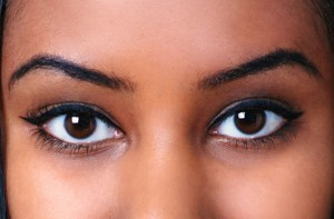 Permanent Eyebrows-closeup
