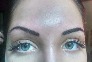Permanent eyebrows and lash extensions