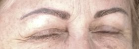 organically natural permanent eyebrows