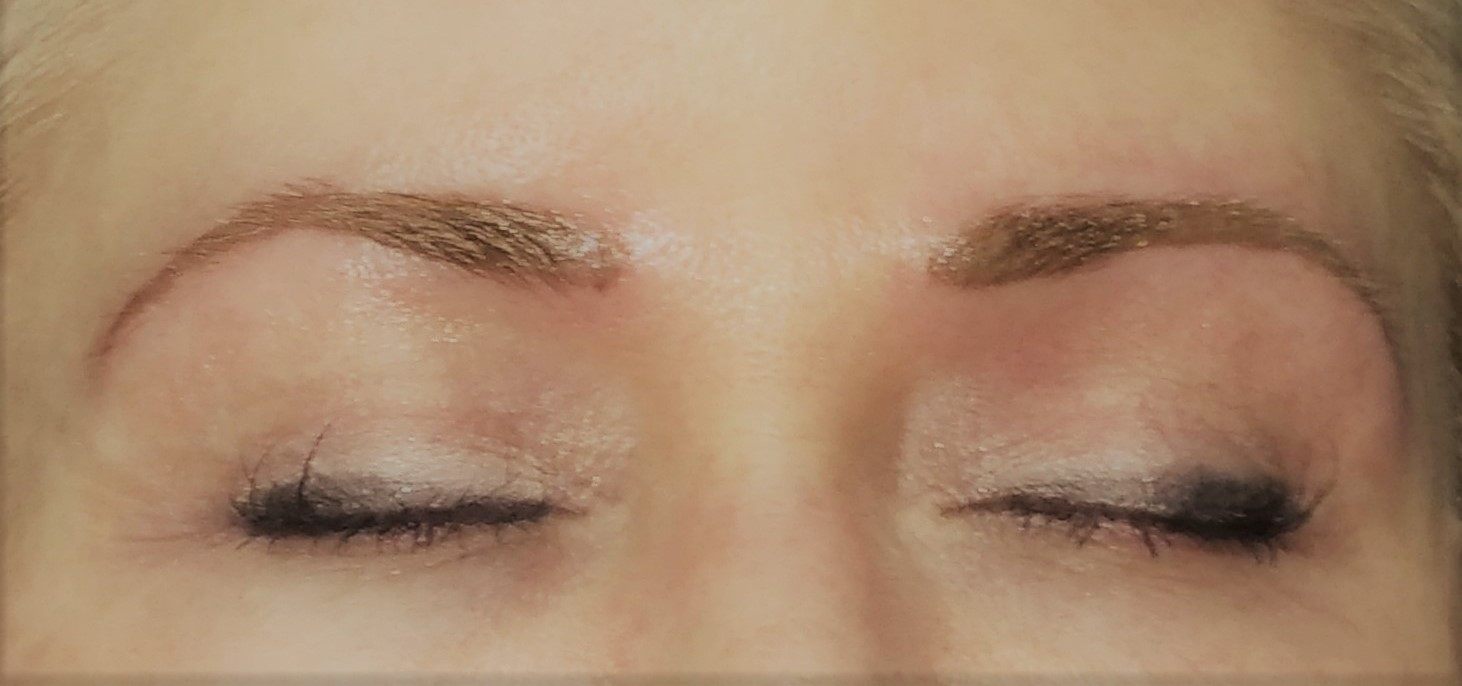 Soft Blondebrown Permanent Eyebrows Gloria Brennan Permanent